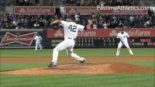 Mariano Rivera CUTTER Pitching Mechanics Slow Motion Baseball Instruction Analysis Yankees MLB