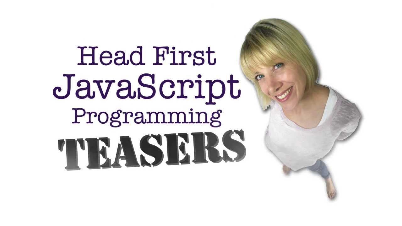 A little Head First JavaScript Programming Teaser - YouTube