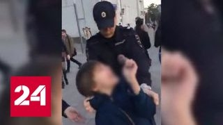 МВД проверит обстоятельства задержания 9 летнего ребенка на Арбате