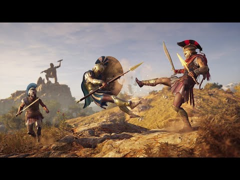 Assassin's Creed Odyssey Gameplay Demo - IGN Live E3 2018