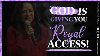 GOD is Giving You RO¥AL ACCESS!