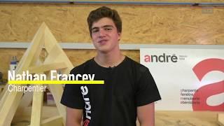 Nathan Francey, charpentier / SwissSkills 2018