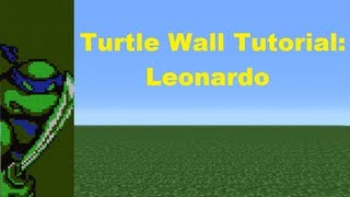 Turtle Wall - Part 1: Leonardo (listen to the first minute)