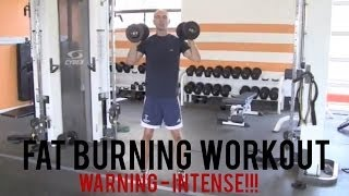 FAT BURNING WORKOUT - WARNING: INTENSE!!