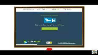 TOKENKEYS Заработок в интернете без вложений от 7000 рублей в день на Электронных Ключах