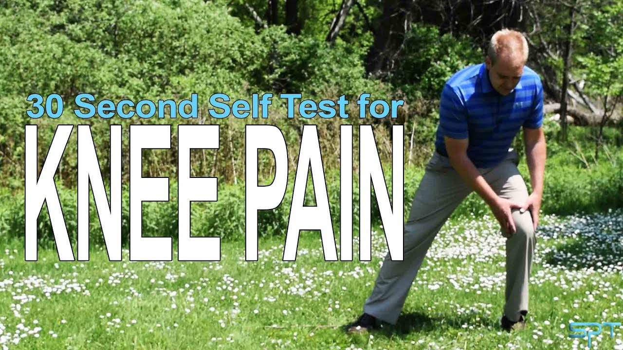 Knee pain diagnosis test - How To Test Your Knee Pain