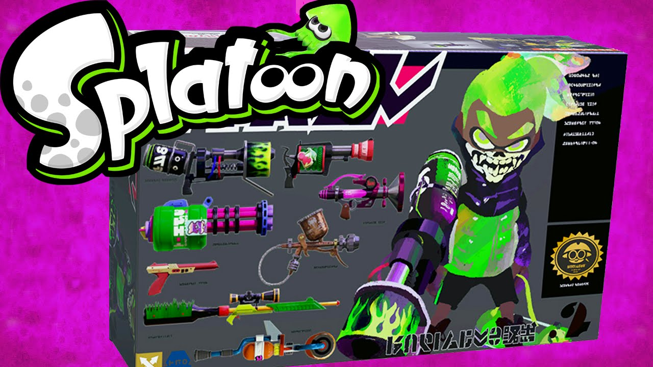 Splatoon Wii U Gameplay 1st Anniversary Sheldon S Picks