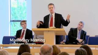 Elder Bednar Visits Members in Europe