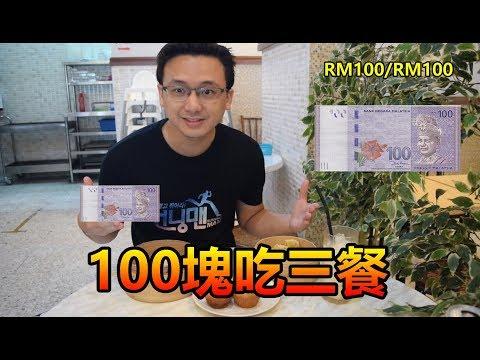 【挑戰】如何用100塊吃三餐!