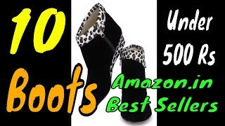 Women Boots Under 500 Rs | 10 Best Sellers Women Boots on Amazon India July 2018
