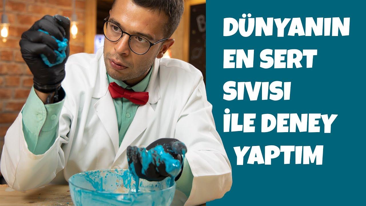 Profesör Balık ile Deneyler: Katı-Sıvı Deneyi