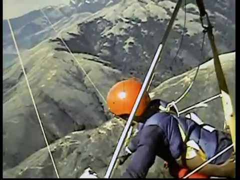 Vintage Hang Gliding, Fort Funston, Shelter Cove, Big Sur, Yosemite.