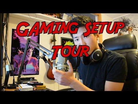 Hansol Gaming Setup Office Tour