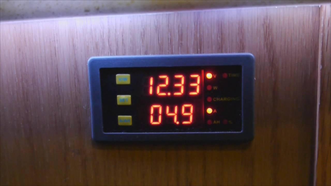 Ebay Battery Monitor, Cheap ammeter like a Trimetric  YouTube