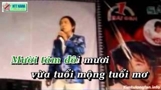 [Karaoke - beat] Teen Vọng Cổ (Tân Cổ) - Kim Tử Long
