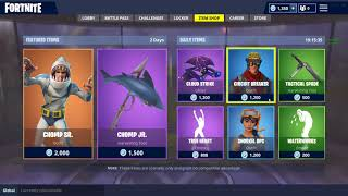 Fortnite DAILY ITEM SHOP - 22 July 2018 (CHOMP SR Skin, True Heart Emote & more)