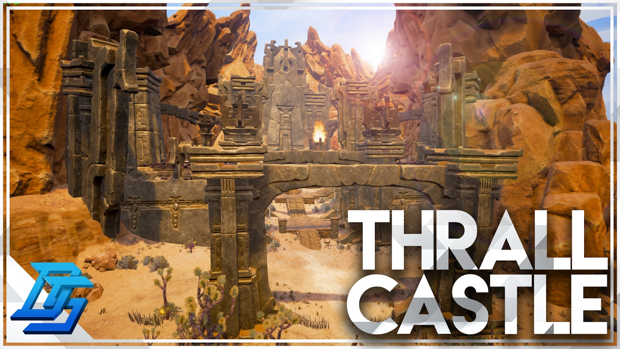 how to build a castle in conan exiles