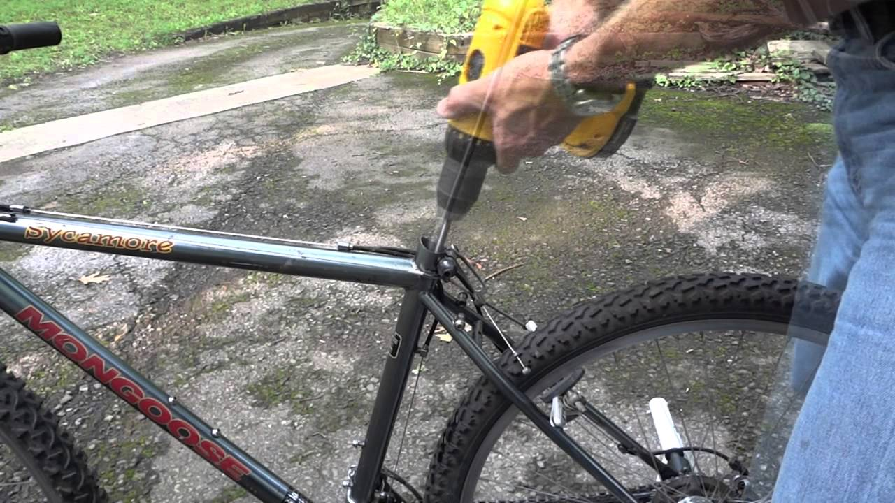 how to clean rust corrosion from inside bike seat tube youtube. Black Bedroom Furniture Sets. Home Design Ideas