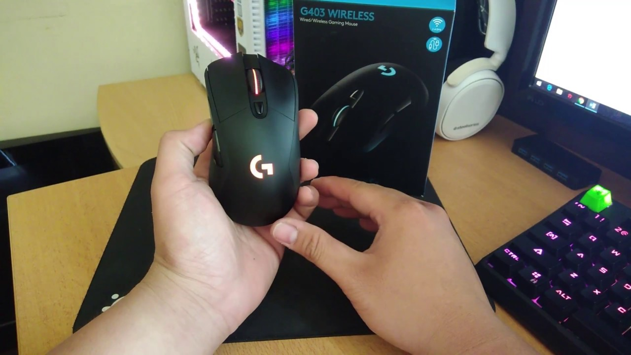 [ Đánh giá ] Chuột Gaming G403 Wireless - Béo Gaming