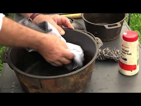 BCF Hacks - Cast Iron Cleaning with Roothy
