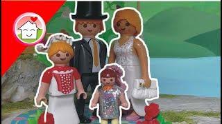 Playmobil Film deutsch Die Hochzeit von Kommissar Overbeck und Sarah von Familie Hauser / Kinderfilm