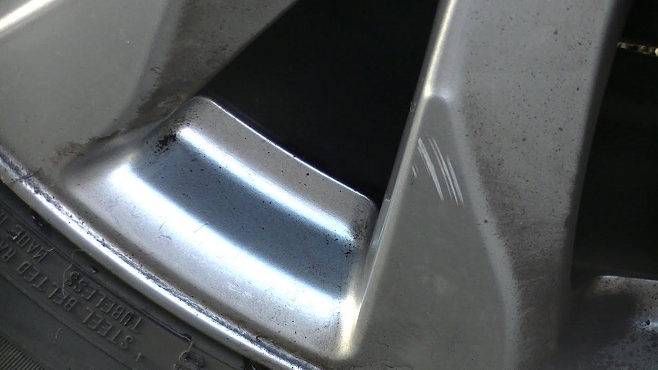 C mo limpiar una llanta de aluminio picada youtube - Como limpiar aluminio oxidado ...
