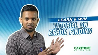 Error Detection Tips: Part-2