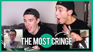 REACTING TO OUR OLD CRINGEY VINES w/ James Charles