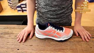 Review Asics Volley Elite FF Volleyballschuh