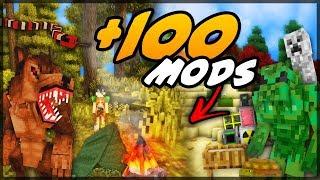 ✔ SUPER MODPACK COM +100 MODS PARA JOGAR NO SEU MINECRAFT!