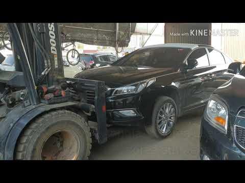 Angola-Korea car export. Kia K7 K5 Sonata