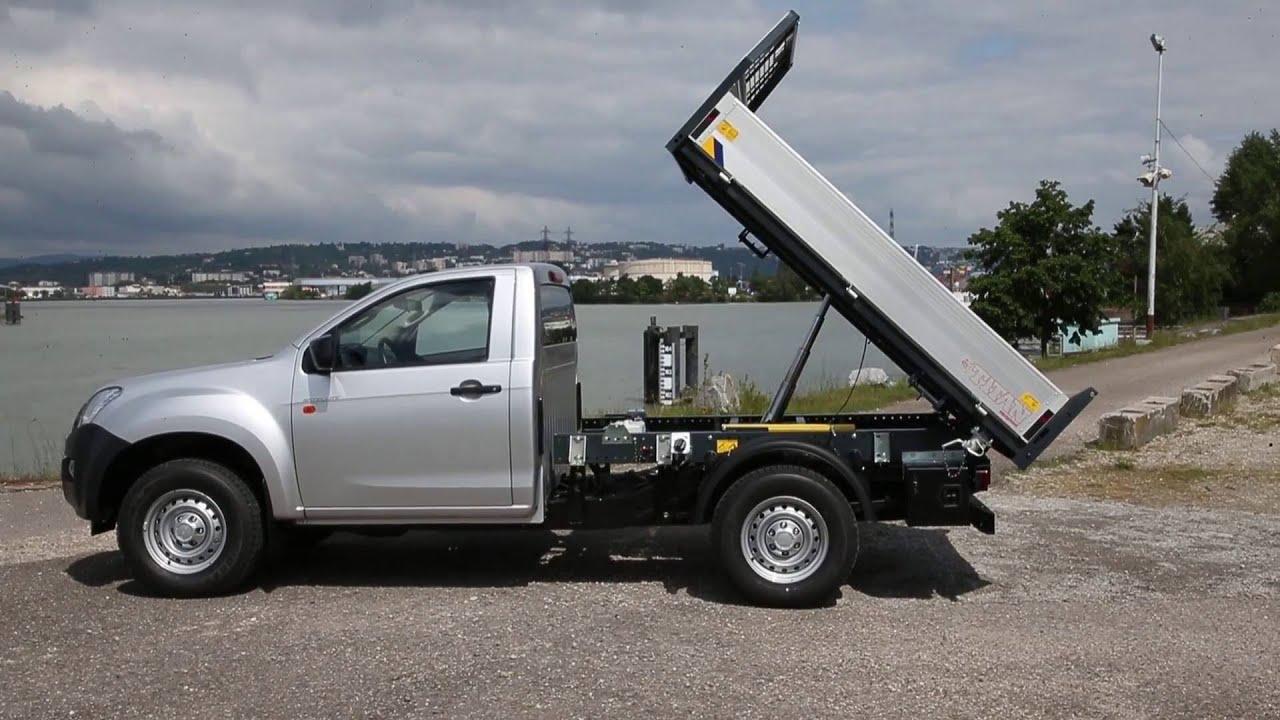 pick up isuzu d max single cab to work satellite benne titan youtube. Black Bedroom Furniture Sets. Home Design Ideas