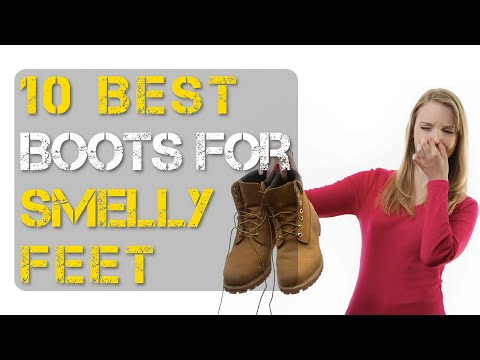 Top 10 Best Work Boots for Smelly Feet for Men and Women