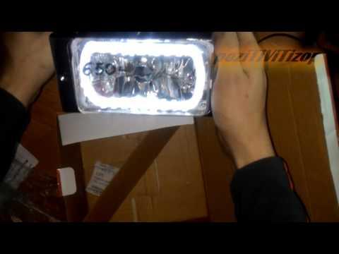 Видеообзор туманок на ваз 2115 часть 1 (анпакинг)