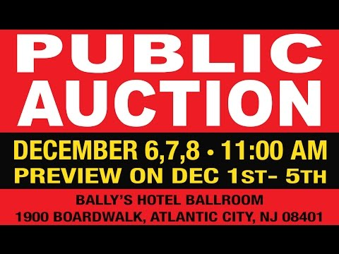 Caesars Entertainment Atlantic City Auction