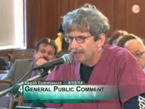 Dan Merer testifies about unsafe conditions in SF General Hospital Emergency Room