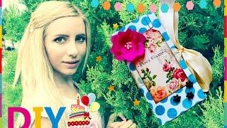 Коробка с сюрпризом своими руками Идея подарка на день рождения Idea DIY Holliday Открытка(Что подарить на день рождения? Видео для креативщиков, у которых вечно не хватает времени :) Макет коробки:..., 2015-07-20T08:18:15.000Z)