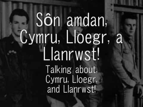 Cymru, Lloegr, a Llanrwst - Y Cyrff (geiriau / lyrics)
