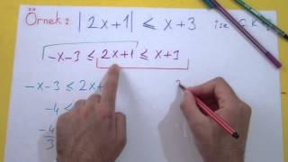 Mutlak Değer 3 Şenol Hoca Matematik