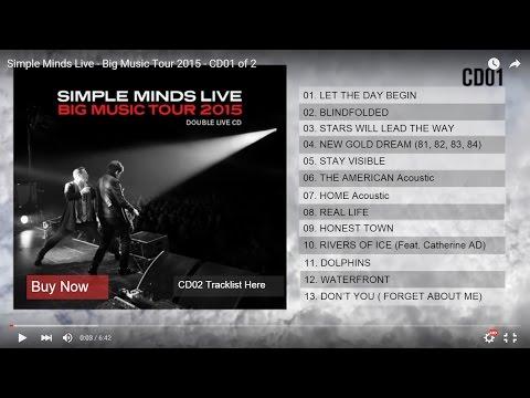 Simple Minds   Big Music Tour 2015  CD01 of 2