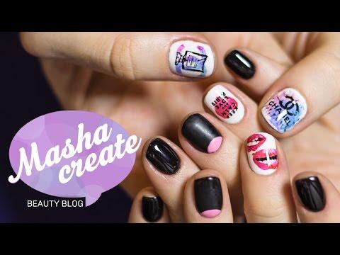 Дизайн ногтей слайдер дизайн видео уроки