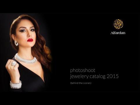 Making Of Photoshooting Jewelery Catalog 2015 - Qatar