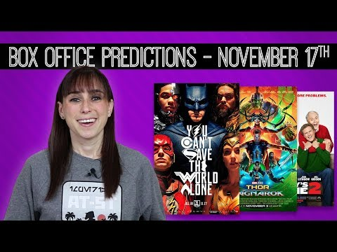Justice League  Box Office Predictions