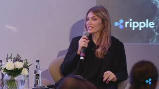 Eva Kaili (Member of European Parliament) at Ripple Regionals: Europe 2019