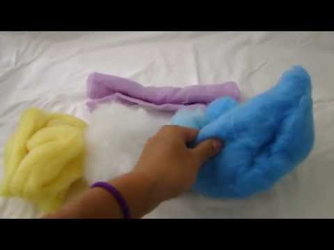 Beginners Guide to Needle Felting 2: Different forms of wool