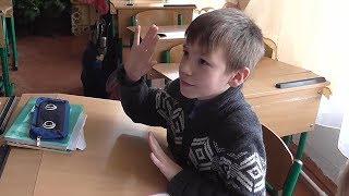 Урок літературного читання в 3- В класі Надвірнянської школи №3
