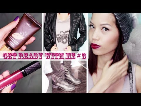 Get Ready With Me #9 (Bold Plum Lips)
