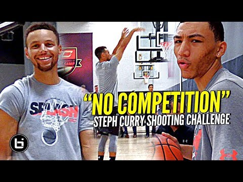 Thumbnail: The Steph Curry Shooting Challenge! Steph DESTROYS TOP HS Guards at #SC30Select Camp!