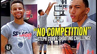 The Steph Curry Shooting Challenge! Steph DESTROYS TOP HS Guards at #SC30Select Camp! thumbnail