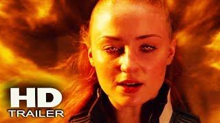 ЛЮДИ ИКС: ТЕМНЫЙ ФЕНИКС - Первый Взгляд Трейлер 2018 (Jennifer Lawrence) Sci Fi Movie